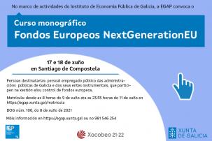 Curso monográfico Fondos europeos NextGenerationEU